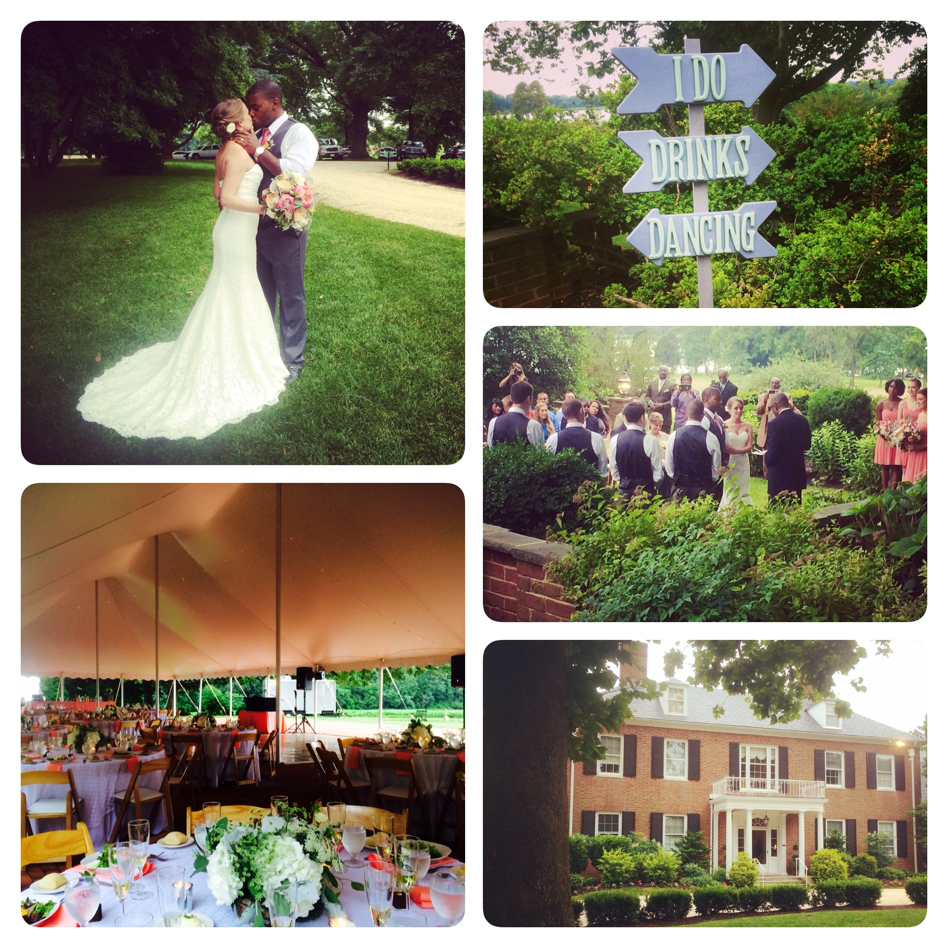 dana u0026 aaron u0027s wedding u0026 reception at brittland manor friendly