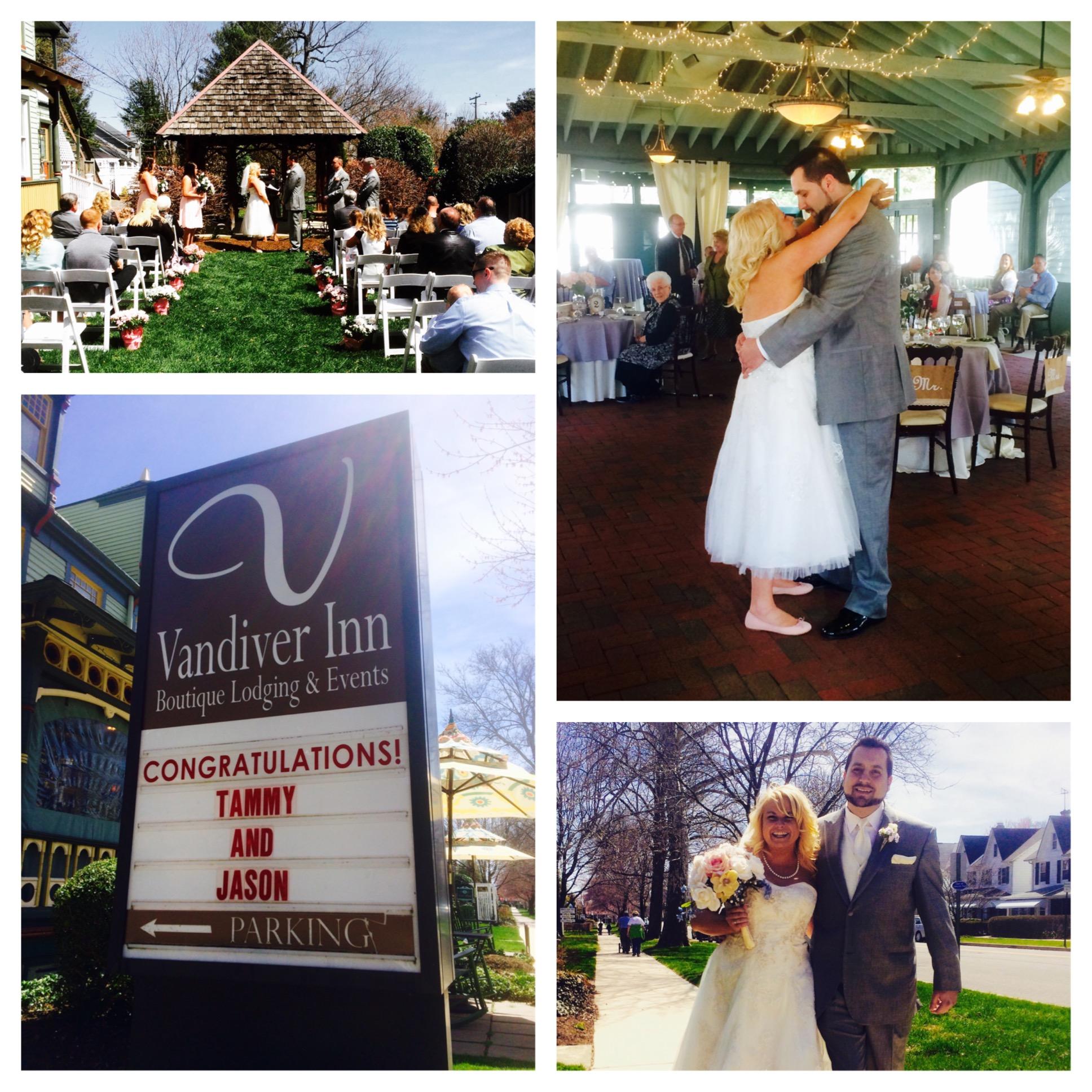 Tammy Amp Jason S Wedding Reception At The Vandiver Inn