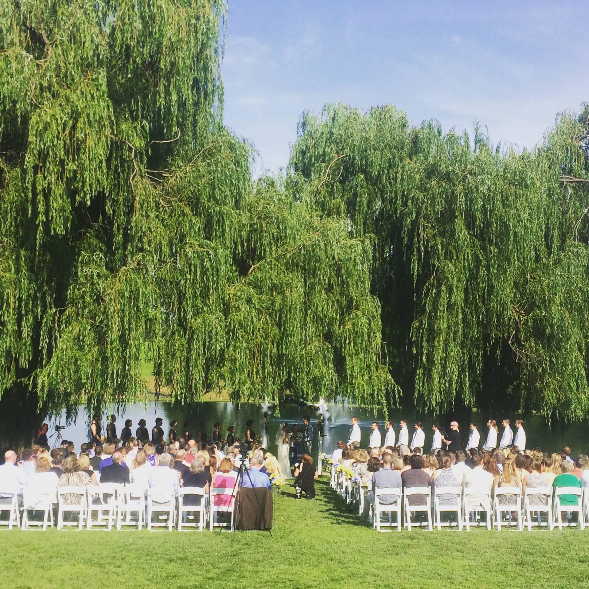 Megan Amp Kyles Wedding Reception At Pond View Farm