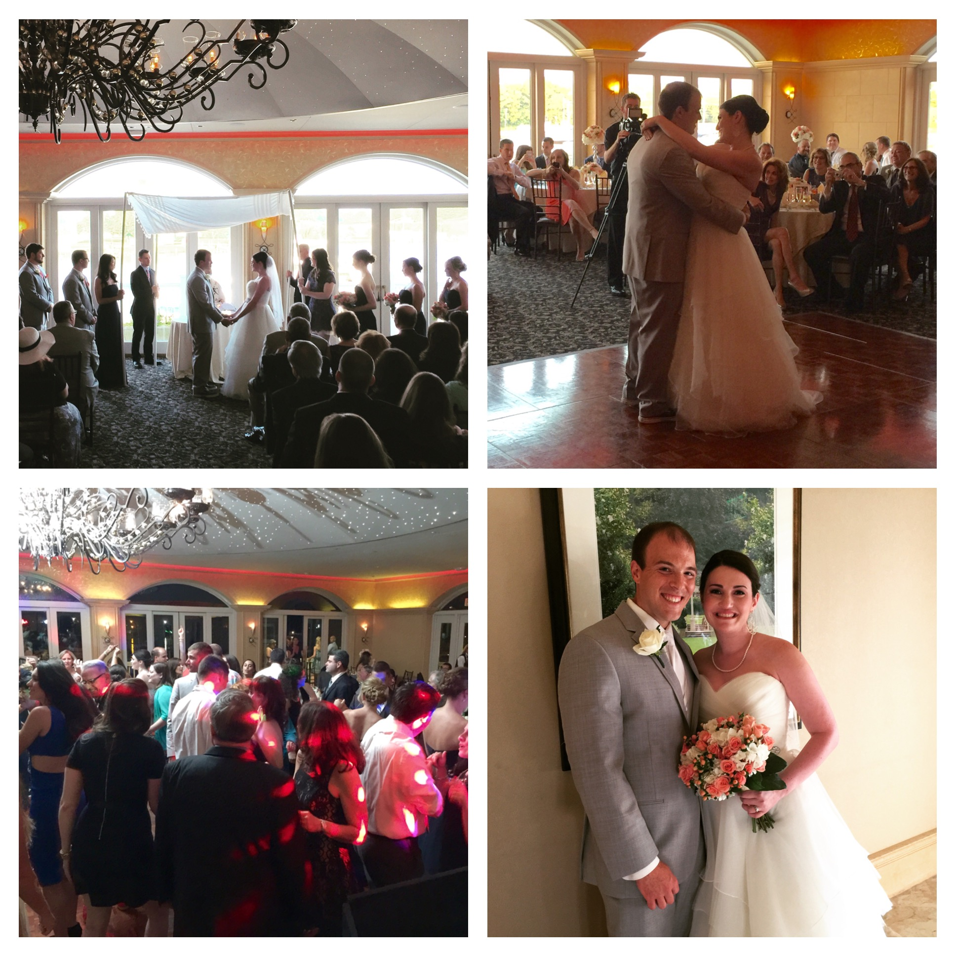 Ali Kyle S Wedding Reception At The Chesapeake Inn Ballroom