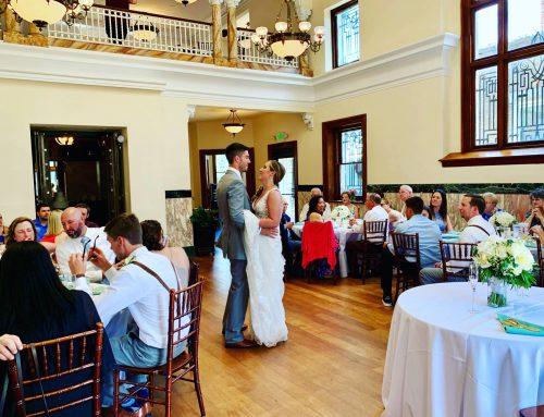 Brittany & Jarod's Wedding + Reception / La Banque de Fleuve