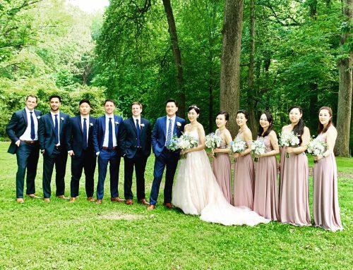 Liz & Won's Wedding + Reception / Liriodendron Mansion